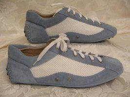 Sport Sneaker Hellblau Weiß Größe 36 Turnschuhe