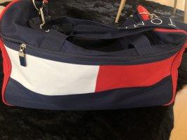 Tommy Hilfiger Travel Bag blue-red nylon