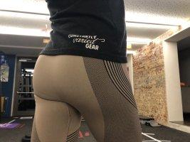 Sport tights leggings fitness bodybuilding Sporthose gr. S 36