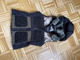 Sportalm Quilted Gilet black-olive green
