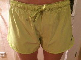 Nike Sport Shorts neon yellow