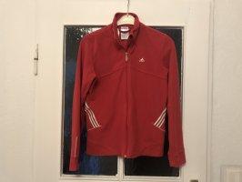 Adidas Veste de sport rouge brique