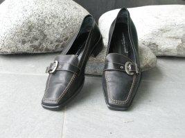 Sportlich-Eleganter Damenpumps von Konstantin Starke, schwarz, flacher Absatz,