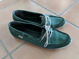 Janet D Zapatos de marinero azul cadete-petróleo