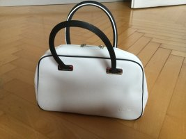 Lacoste Bowling Bag white synthetic material