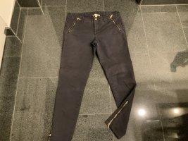 Michael Kors Spodnie 7/8 złoto-ciemnoniebieski Bawełna