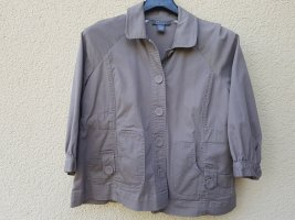 Wraparound Jacket grey brown