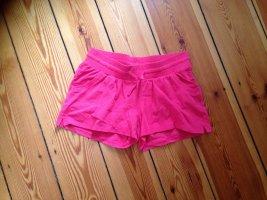 Sportliche Shorts, Hotpants in pink, Gr. M