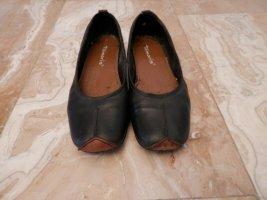 sportliche Tamaris Flats Slipper Ballerinas Fashion Blogger Style Schuhe