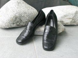 Maripé Slippers black leather