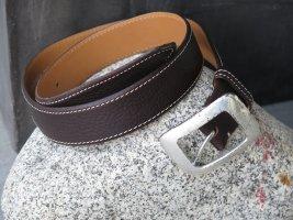 Nurage Cintura fianchi marrone scuro Pelle
