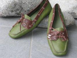 Marc O'Polo Mocassino grigio-verde-marrone-rosso