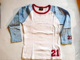 sportliches Shirt mit 3/4 Ärmel