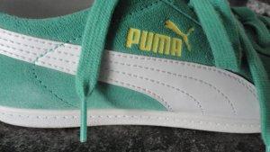 Puma Zapatilla brogue verde claro-verde hierba Gamuza