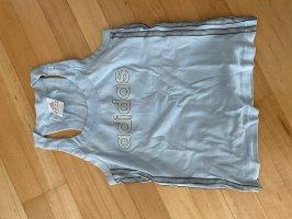 Adidas Sportshirt sleutelbloem-lichtblauw