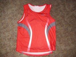 Asics Sportshirt rood Polyester