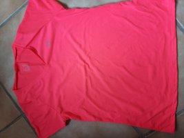 Decathlon Sports Shirt raspberry-red polyester