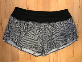 Nike Short de sport noir-blanc