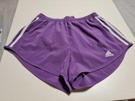 Adidas Sport Shorts white-lilac