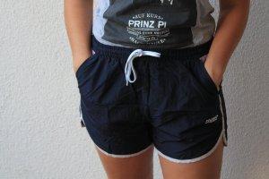 Snipes Pantalón corto deportivo azul oscuro