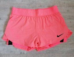 Nike Dri-FIT Pantalón corto deportivo rosa-salmón Poliéster