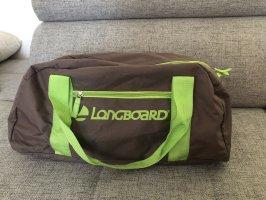 Longboard Jeans Sporttas weidegroen-taupe
