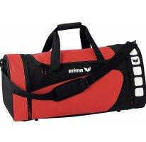 Erima Sporttas zwart-rood
