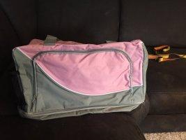 Sac de sport argenté-vieux rose tissu mixte