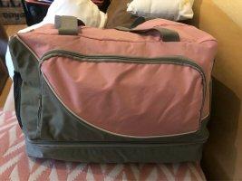 KANIA Sac de voyage gris-vieux rose tissu mixte