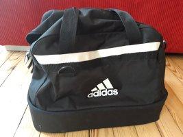 Adidas Bolsa de gimnasio blanco-negro