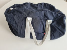 Red collar project Sports Bag blue