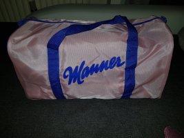 Sac de sport rose-bleu