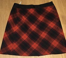 St. emile Wool Skirt black-red