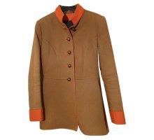 Stajan Tradycyjna kurtka ochra-pomarańczowy Bawełna