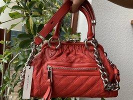 Marc Jacobs Sac Baril rouge brique cuir