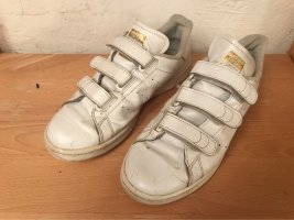 Adidas Zapatillas con hook-and-loop fastener blanco-color oro