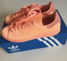 adidas stan smith Basket à lacet orange-orange fluo