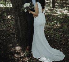 Standesamtkleid, Hochzeitskleid, Brautkleid, Nikah, Standesamt