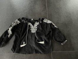 Star mela Tunic Blouse black-white