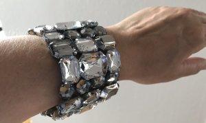 Statement Armband mit Strass Steinen