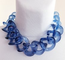 Statement Collier blau