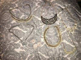 Statement Ketten Gold Silber rosegold