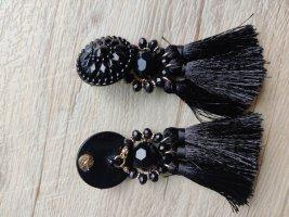 H&M Statement Earrings black