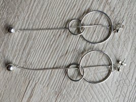 H&M Silver Earrings silver-colored