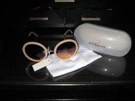 palapas Round Sunglasses cream