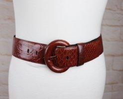 Schuchard & Friese Waist Belt brown-cognac-coloured leather