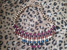 Zara Cadena de cuentas multicolor