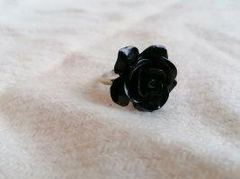 Bijou Brigitte Statement Ring black-silver-colored