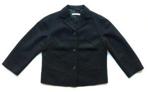 Stefanel Wool Blazer black wool