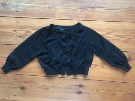 Stefanel Knitted Bolero black cotton
